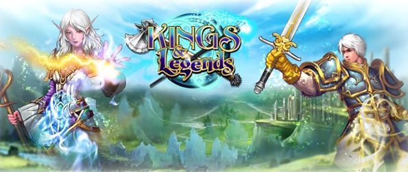 Kings and Legends - Enter a spectacular world of magic and champions in a fun CCG with excellent gameplay.