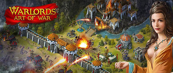Warlords: Art of War - Take aim to influence the battlefield as you conquer the neighboring lands and other empires in this frantic MMORTS in Facebook.