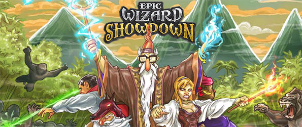 Epic Wizard Showdown - Enjoy this high quality game with a unique twist that all are sure to enjoy.