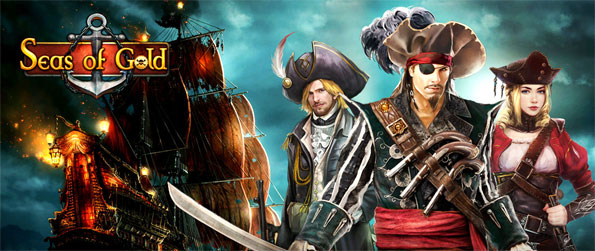 Seas of Gold - Explore the vast seas in this high quality MMO game that will not disappoint.