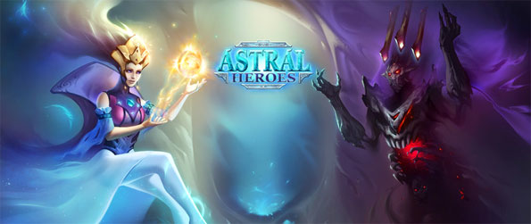 Astral Heroes - Experience a digital collectible card game like no other in Astral Heroes!